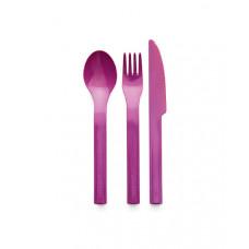 Набор столовых приборов: ложка, вилка, нож