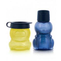 Набор: Эко-бутылка и стаканчик Динозаврики