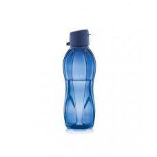 Эко-бутылка (500 мл) в синем цвете с клапаном