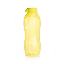 Эко-бутылка (1,5 л) в желтом цвете c с винтовой крышкой