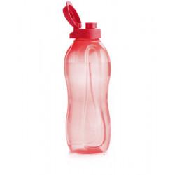 Эко-бутылка (1,5 л) в красном цвете с клапаном