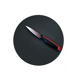 Разделочная доска круглая гибкая в черном цвете