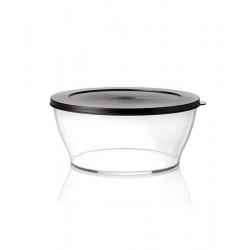 Чаша «Кристалл» (1,35 л) в черном цвете